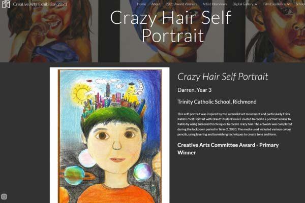 Trinity Primary School Creative Arts Winner